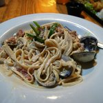 Clam Linguine. Very filling