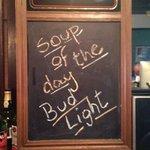 It's a good soup!