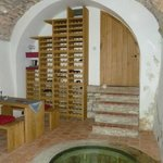 Wine celler and cistern
