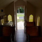 Looking Out from the Altar