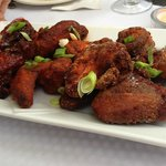 Chicken Wings: traditional hot buffalo, smokey lime bbq, salt 'n pepper