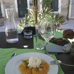 Carpacio d'orange; simple but fresh and lovely dessert!