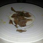 kalte kartoffel creme suppe mit trüffel