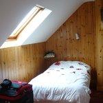 Top floor bedroom with ocean view
