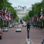 The mall from Buckingham Palace