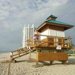 Sunny Isles Beach...con el Trump de fondo....