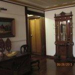 entrada de um dos quartos