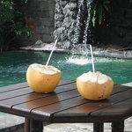 cool & refreshing poolside
