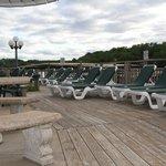 Poolside Sun Deck