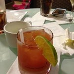 rum punch...all beverages are included into the price