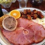 Fantastic ham & eggs