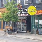 Location on Queen St W, Toronto