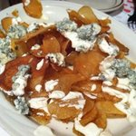 blue cheese chips