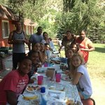 Our last group breakfast at 2 eagels