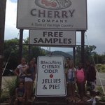 Grag a fresh Cherry pie right down the street from resort