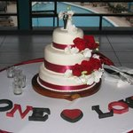 Our beautiful cake