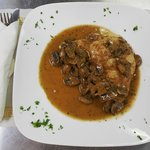 Chicken Marsala - yum!