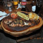 Nice Grilled Red Snapper