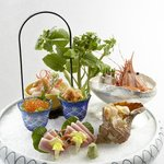 Signature dish - Deluxe selection of sashimi