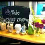 Cute take-away cafe