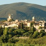 Lourmarin viewed from Les Olivettes