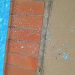 Peeling Pool Paint