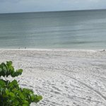 Clams Pass Beach, white sand, almost deserted