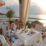 Abendessen im Delfino Blu inkluse Sonnenuntergang