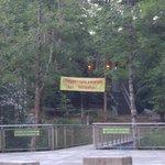 entrée du crapahut parc