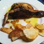 fantastic lluç del cantabric fresc amb patates!!!