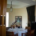 Salle du restaurant à l'étage