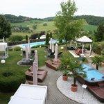 Pool- Gartenbereich