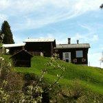 Ansicht des Anwesens auf Bruschgaleschg
