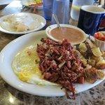 Corned Beef Hash, Pete's Cafe