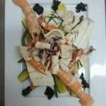 Cappon magro di mare con verdure