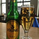 What else to drink in Viking land but Viking Beer (5%)