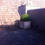 an other part of the terrace of room 28