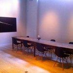 very modern meeting room