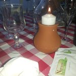 e quando si fa sera... a lume di candela...