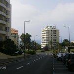 Vista para a avenida