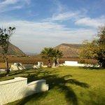 du Von wine farm view from guest house