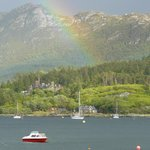 From the front of Plockton Hotel