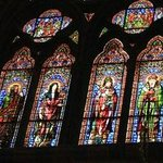 Cahors Cathedral: Stained glass windows