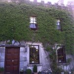 Front door and ivy roof -- a warm welcome to inside riches