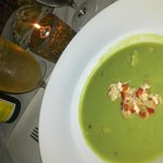 Gazpacho de guacamole