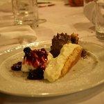 dessert della casa con prova assaggi: 10 e lode