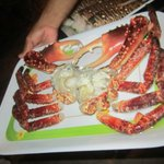 Restaurant down the beach- Albertos