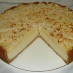 Coconut Grits Cheesecake