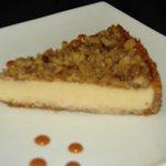 Peachy Grits Cheesecake