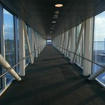 Skywalk between the Sheraton and the Convention Center - great views!